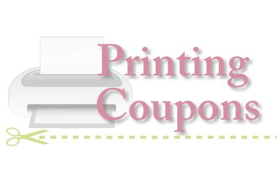 Printing coupons