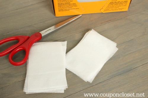 money saving tip - dryer sheets