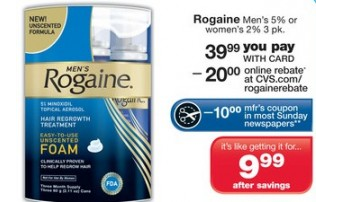 rogaine coupon printable