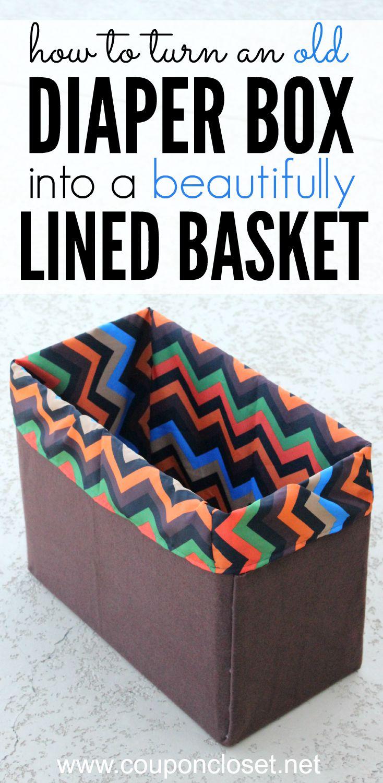 make a lined basket