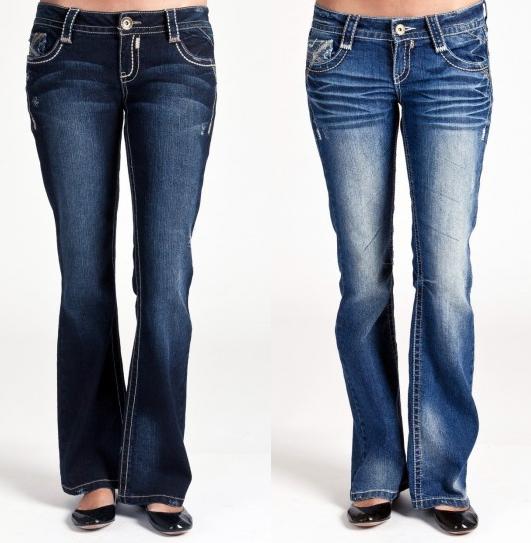 Bootcut jeans juniors