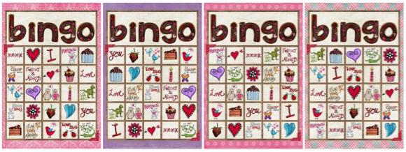 FREE Printable Valentine BINGO Game Coupon Closet – Free Printable Valentines Day Bingo Cards