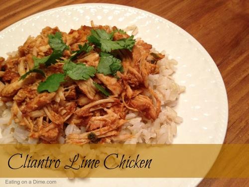Crockpot Cilantro Lime Chicken Recipe - Coupon Closet