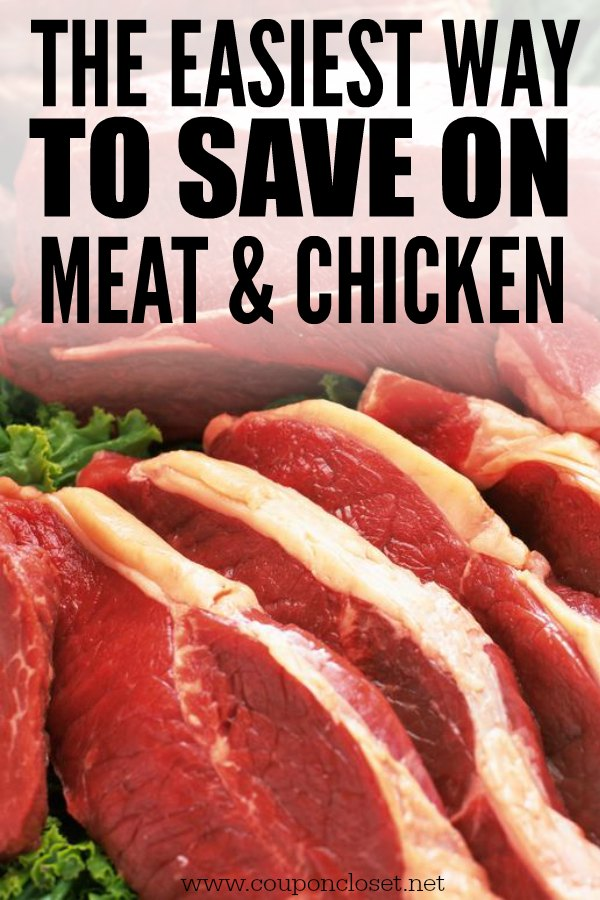 Struggling to find coupon for meat? Here is the easiest way to save money on meat - just fin your stock up prices. In 3 simple steps you will save money.