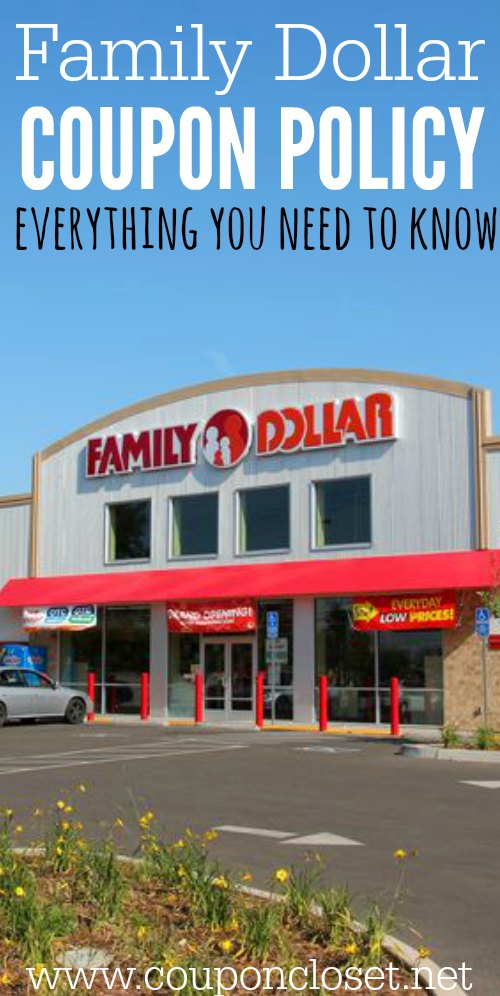 family dollar coupon policy everything you need to know