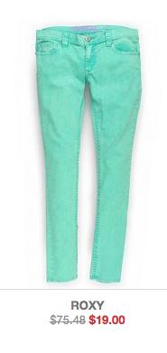 roxy skinny jeans