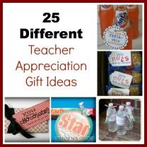 25 Teacher appreciate gift Collage
