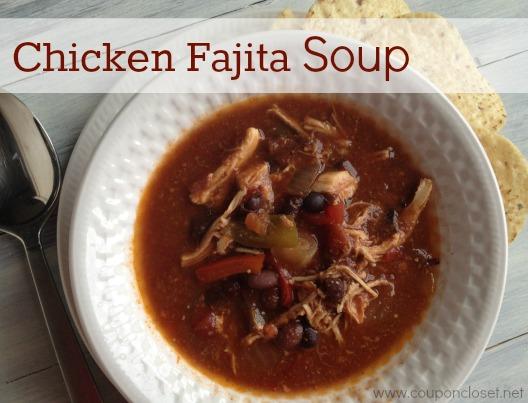 Crockpot Chicken Fajita Soup Recipe - Coupon Closet