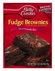 how to make betty crocker brownies fudgy