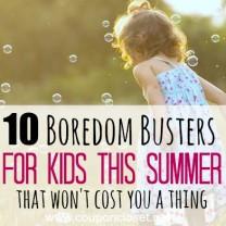 boredom busters quare
