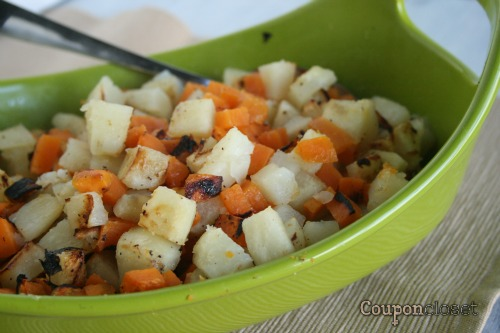 Grilled Sweet Potatoes and Potatoes