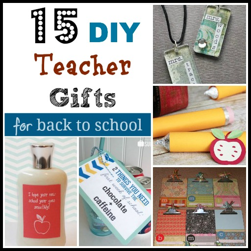 diy teachers gifts Collage