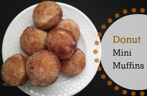 Donut Mini Muffins