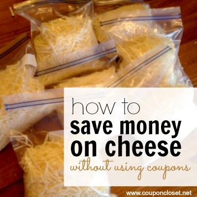 freeze-cheese - save money