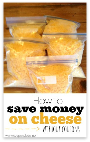 how-to-save-money-on-cheese without coupons