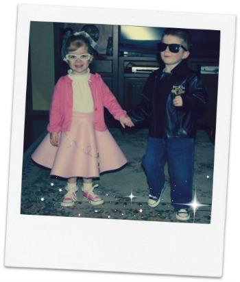 50s costume idea for kids