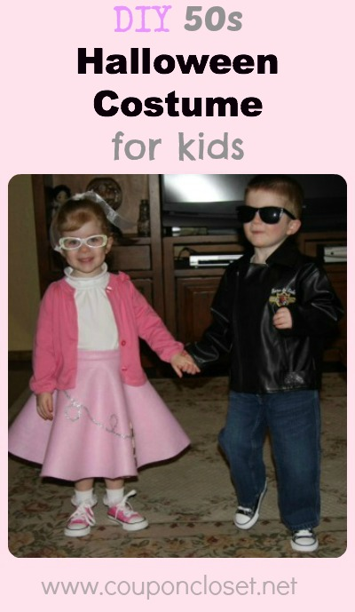 50s kids costumes Collage