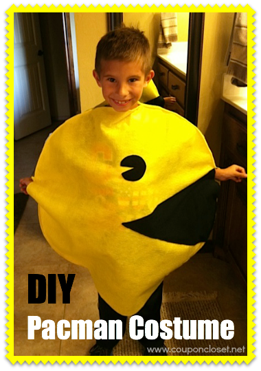 DIY Pacman costume