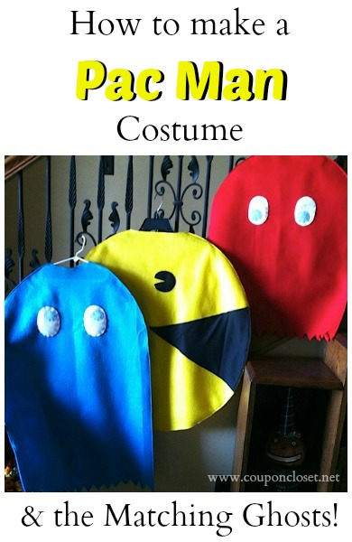 how to make a pacman costume