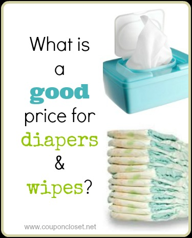 good price for diapers and wipes