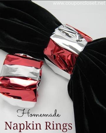 homemade napkin rings
