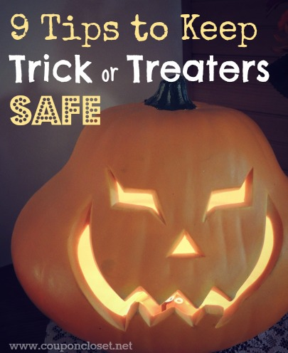 tips to keep trick or treaters safe