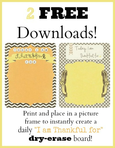 2 FREE Thankful downloads
