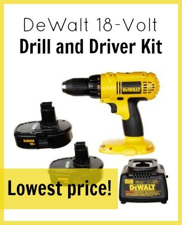 dewalt driver kit - lowest price