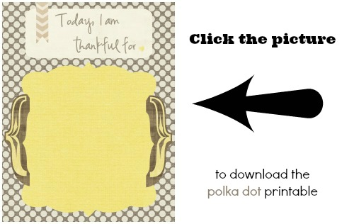 download polka dots thankful