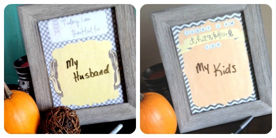 thankful printable Collage