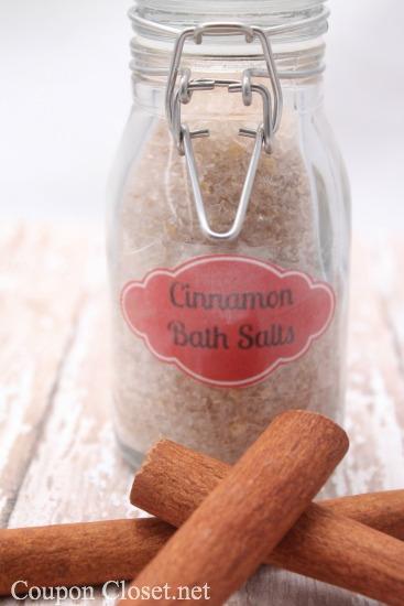 How to Make Cinnamom Bath Salts