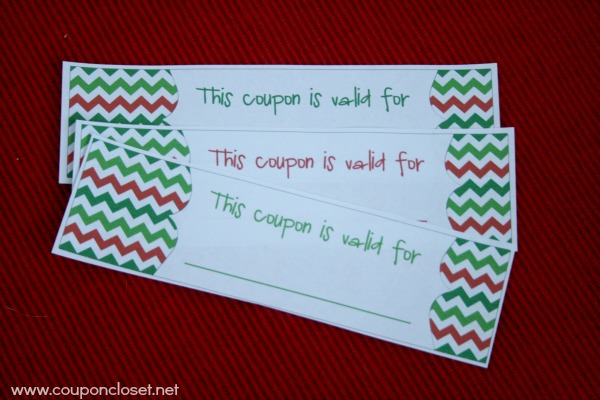 Free christmas coupon book printable homemade gift idea Christmas ideas for your mom