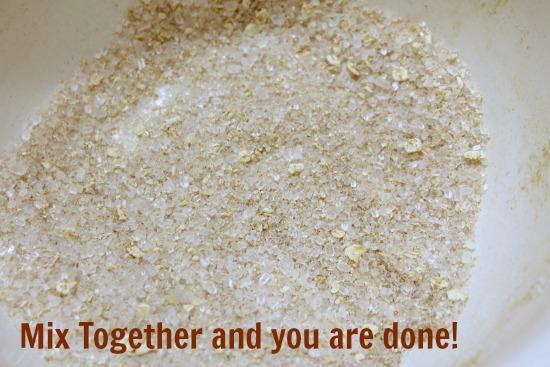cinnamon bath salts mixture