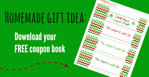 Free christmas coupon book printable homemade gift idea for Coupon book for husband template