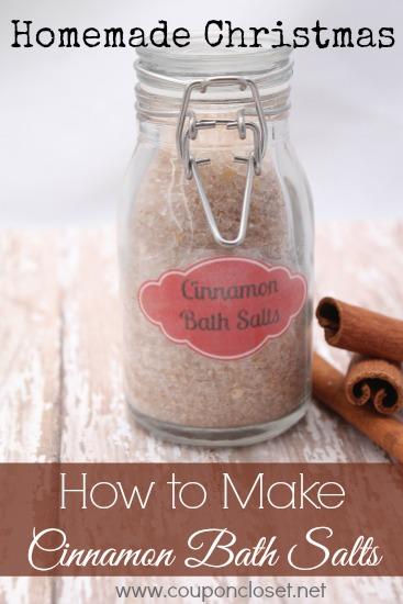 how to make cinnamon Bath salts