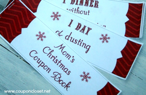 Free Christmas Coupon Book Printables For Mom And Dad