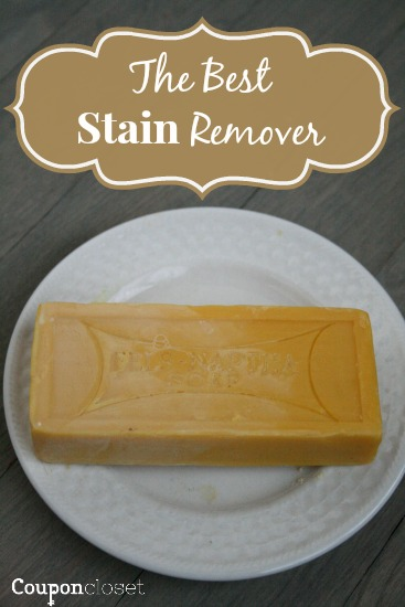 This is the best stain remover and it only cost us $1