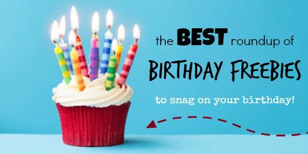birthday freebies - facebook