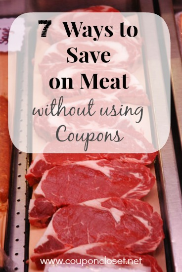saving money on meat without coupons