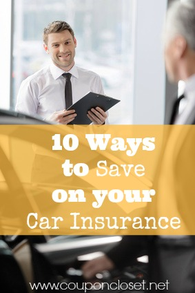 10 ways to save on your car insurance