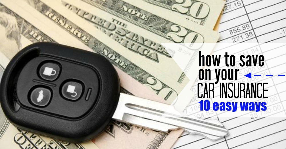 save on car insurance 10 ways