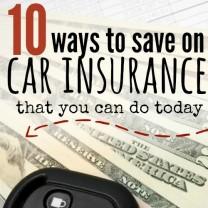 save on car insurance - square