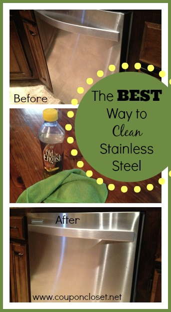 the best way to clean stainless steel