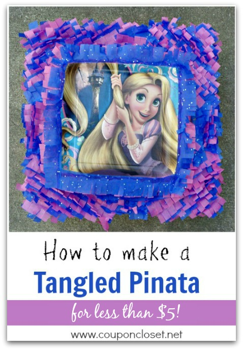Make a tangled pinata for under $5 with these easy steps