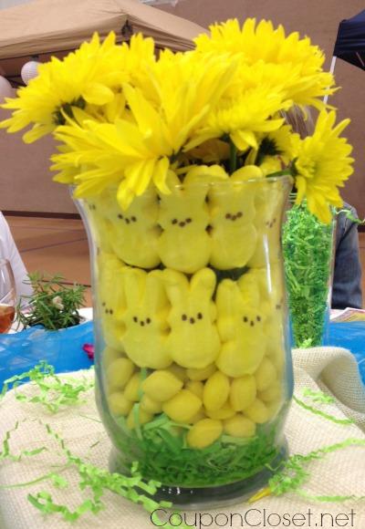 Easy Peeps And Lemon Drop Bouquet Easter Decorations