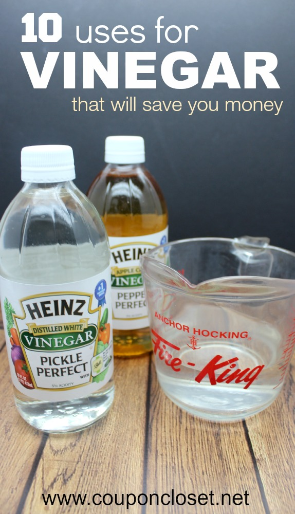 usses for vinegar that will save yo umoney