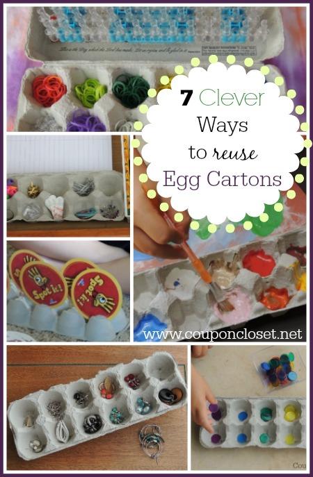 Do not throw away egg cartsons - instea, reause them