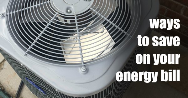 How to lower your energy bill 5 easy tips one crazy mom for Ways you can save energy