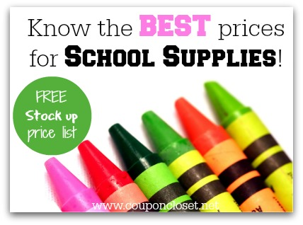 best prices for school supplies
