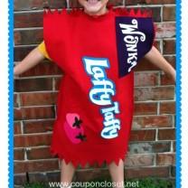 easy homemade laffy taffy costume